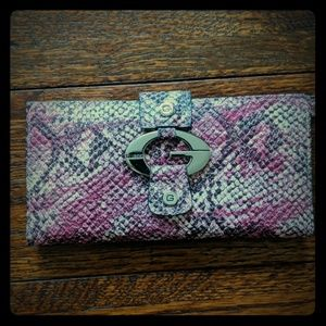 Guess Pink Wallet NWOT